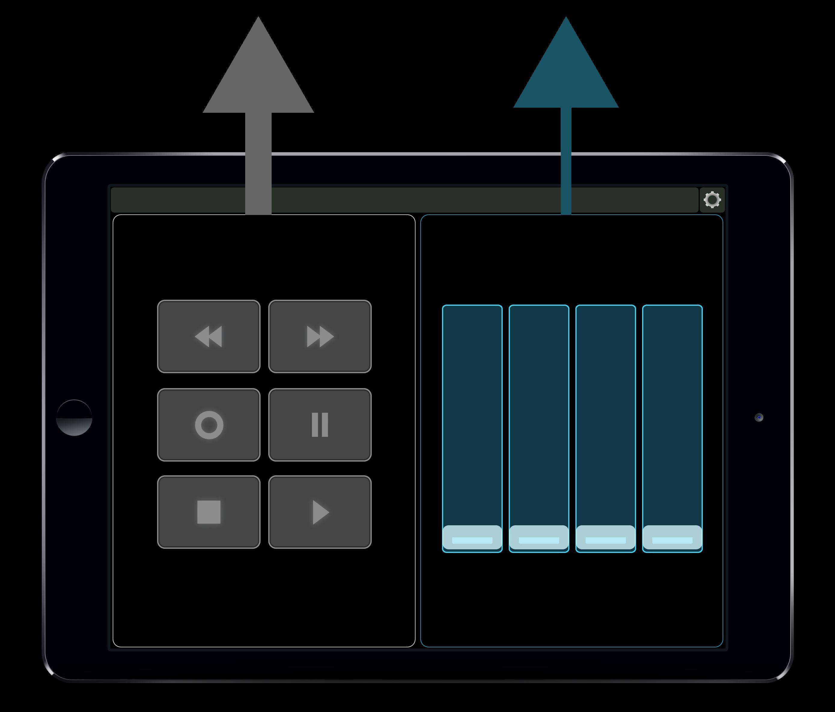 Connecting Lemur MIDI